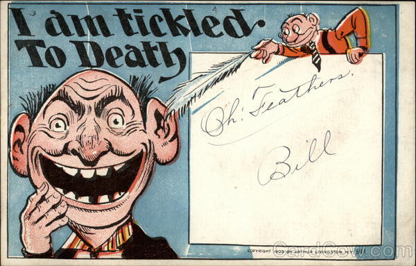 I am tickled to Death Comic, Funny
