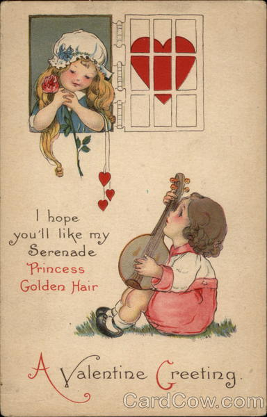 A Valentine Greeting Children