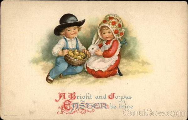 A Bright and Joyous Easter be thine Ellen Clapsaddle