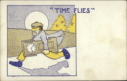Time Flies Postcard