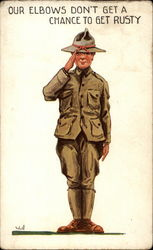 WWI Soldier Salute