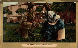 The Army - Facing the Powder Charge Postcard