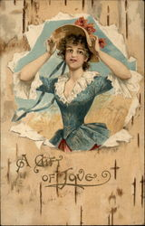 A Gift of Love Postcard