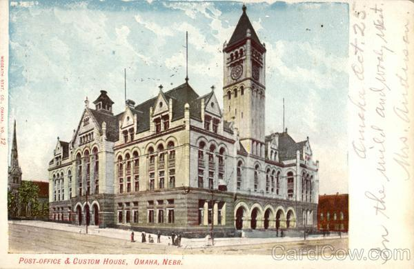 Post Office & Custom House Omaha Nebraska