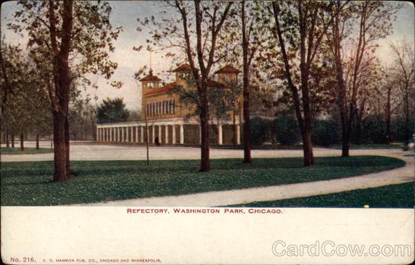 Refectory, Washington Park, Chicago Illinois