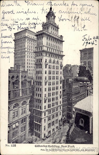 Gillender Building, New York New York City