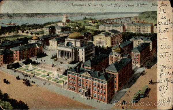 Columbia University and Morningside Hights Morningsid Hights New York