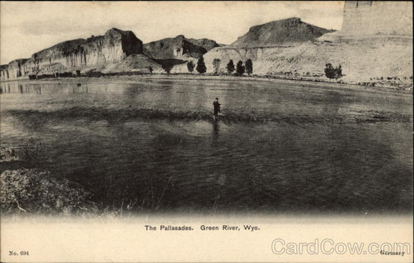 The Palisades, Green River, Wyo Wyoming
