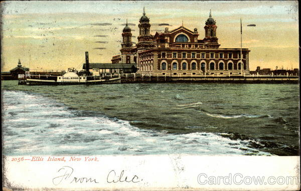 2056 - Ellis Island, New York New York City