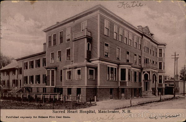 Sacred Heart Hospital Manchester New Hampshire