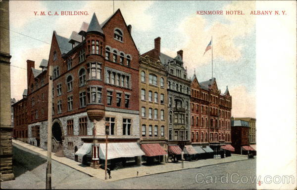 Y m c a building kenmore hotel albany ny for Design hotel upstate new york
