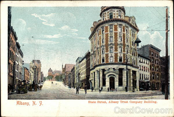 State Street, Albany Trust Company New York