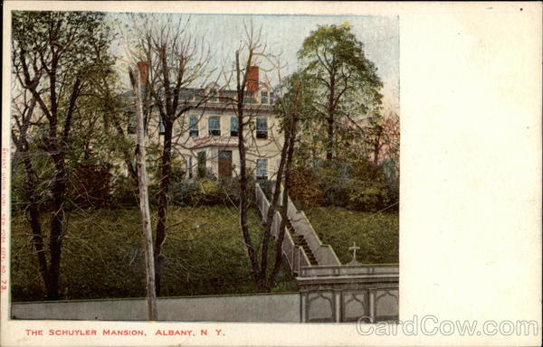 The Schuyler Mansion, Albany, N. Y New York