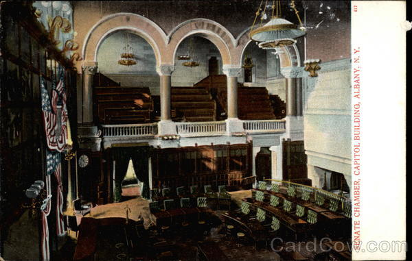 Senate Chamber, Capitol Building, Albany, N.Y New York
