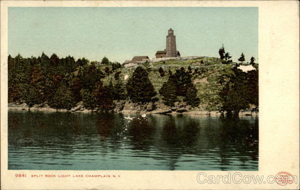 9841. Split Rock Light, Lake Champlain, N.Y New York