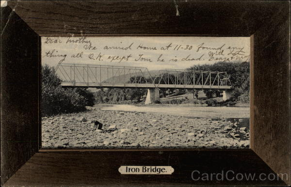 Iron Bridge Schoharie New York