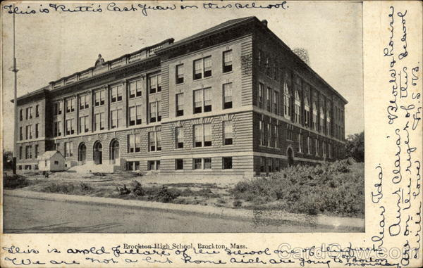Brockton High School, Brockton, Mass Massachusetts