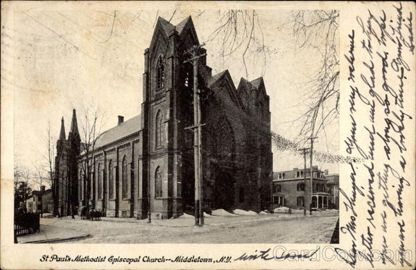 St. Paul's Methodist Church Middletown New York