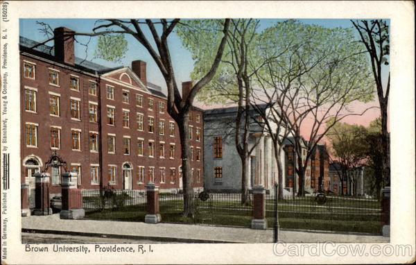 Brown University Providence Rhode Island
