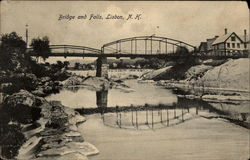 Bridge and Falls, Lisbon, N. H