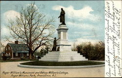 Roger Williams Monument and Betsey Williams' Cottage