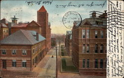 Johns Hopkins University Postcard