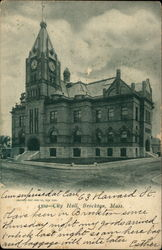 4302 - City Hall, Brooklyn, Mass Postcard