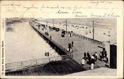 The Board Walk on Rockaway Beach