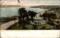 Hudson River from Claremont, New York Postcard