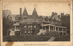 Hotel Oneonta Postcard