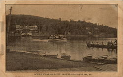 Scene near Onronta Hotel - Harvey's Lake, Pa