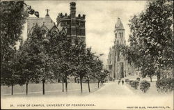 34. View of Campus, University of Pennsylvania
