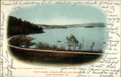 West Shore, Avalon Beach, and Island, Lake Bomoseen, VT