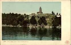 9841. Split Rock Light, Lake Champlain, N.Y