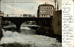 Main St. Bridge And Falls