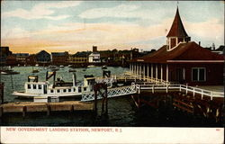 New Government Landing Station, Newport, R. I