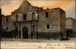 The Alamo, built 1718 Postcard