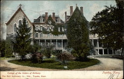 College of the Sisters of Bethany Postcard