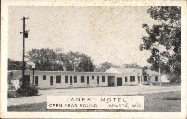 Jane's Motel Sparta Wisconsin