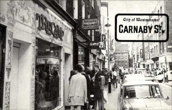 Carnaby Street City of Westminster England