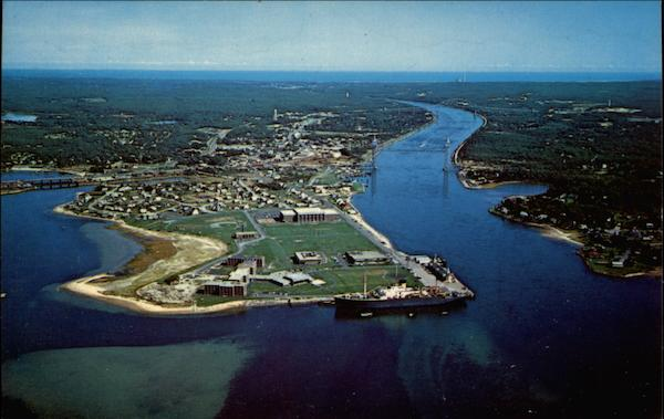 Aerial View of Cape Cod Massachusetts