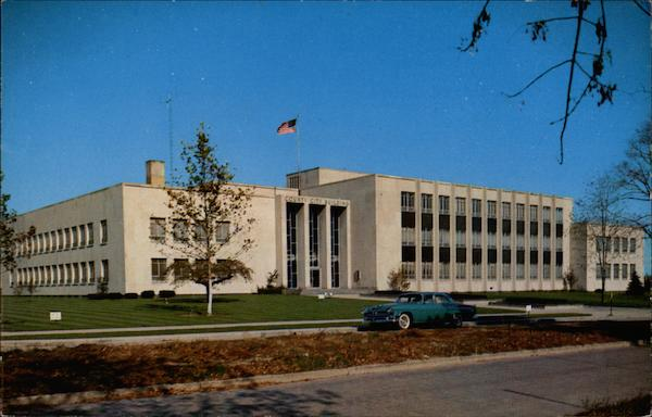 New County and City Building Port Huron Michigan