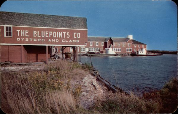 The Bluepoints Co., Oysters and Clams Long Island New York