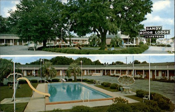 Gandy Motor Lodge Perry Florida