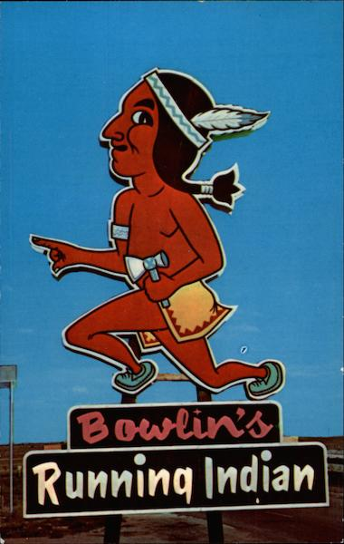 Bownin's Running Indian Fairacres New Mexico
