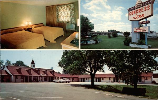 Congress Inn Motel and Restaurant Lexington Kentucky