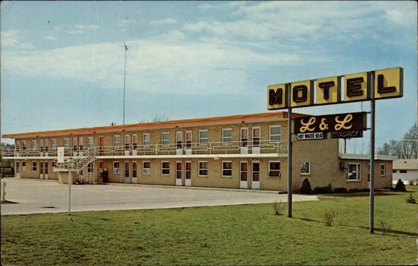 L & L Motel Denison Iowa