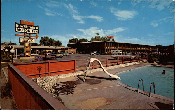 Rowntowner Motor Inn Salt Lake City Utah