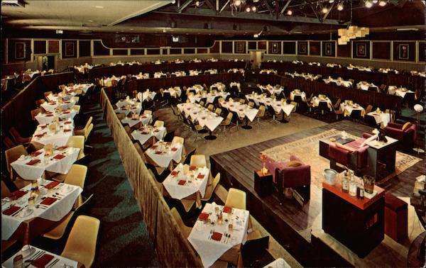Interior of The Golden Apple Dinner Theatre Sarasota Florida