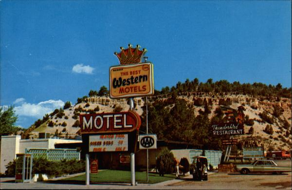 Thunderbird Motel, Restaurant and Golf Course Mount Carmel Junction Utah